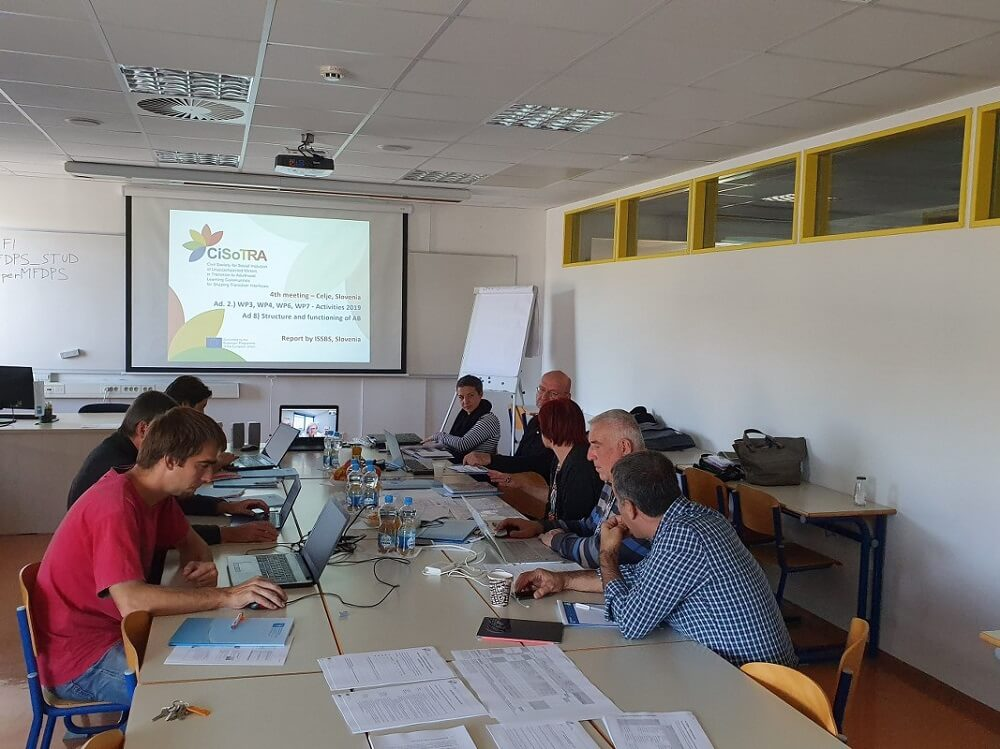 4th project meeting CiSoTRA